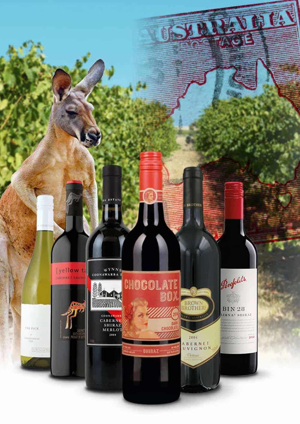 Weltweit beliebte Weine