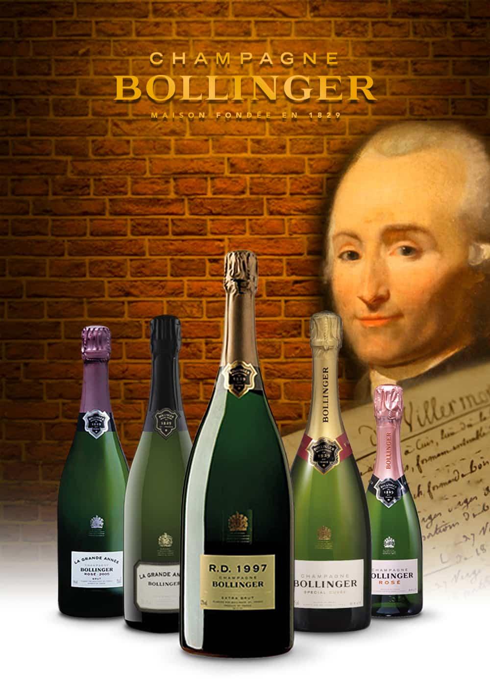 Der Champagner für Adel und Agenten